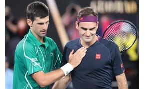 Djokovic nyerte a jubileumi összecsapást Federer ellen