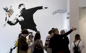 Vandál vagy művész? – Banksy műveiből nyílik kiállítás