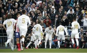 Egy gól elég volt ahhoz, hogy eldőljön a Real Madrid – Atletico Madrid derbi – videó