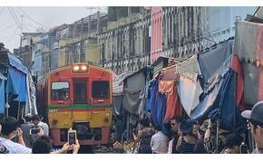 Zsolt utazása és a thaiföldi piacok végeláthatatlan labirintusai – galéria