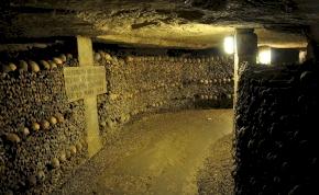 Hat millió ember csontjai vannak Párizs alatt egy alagútrendszerben – videó