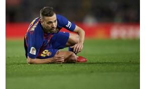 Nagyot koppant a Barcelona játékosa