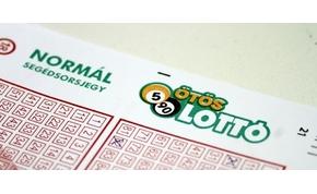 Érdekes számokat húztak ki az ötös lottón