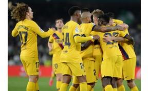 Öt gól, két kiállítás és kiszenvedett Barca-győzelem Sevillában