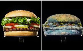 A Burger King penészes kajával kampányol