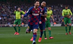 Messi négy góljával intézte el a Barca az Eibart – videó