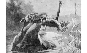 Itt a vérszomjas Bunyip, aki évszázadok óta tartja rettegésben a kontinenst