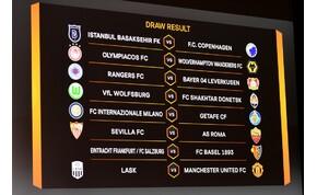 Akadnak érdekes párosítások az Európa-ligában
