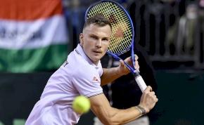Fucsovics nyert, a Davis Kupa döntőjében a férfi teniszválogatott!