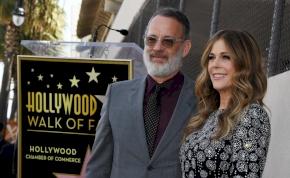 Tom Hanks és felesége karanténba került