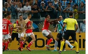 Nyolc piros lap és hatalmas a két brazil csapat meccsén – mutatjuk
