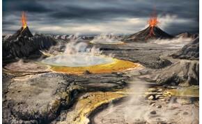 Mikor érkeztek meg az élethez szükséges építőelemek a Földre?