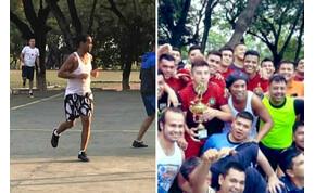 Ronaldinho jól mulat a börtönben, szopós malacért focizik