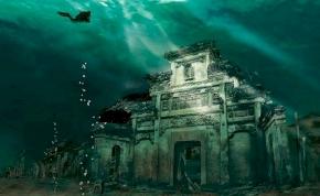 Az igazi Atlantisz: napjainkban halak uszkálnak az egykori világváros utcáin – videó