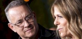 A fertőzött Tom Hanks felesége hatalmasat hibázott a karanténban