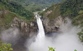Mi történt? – egyszer csak eltűnt Ecuador legnagyobb vízesése
