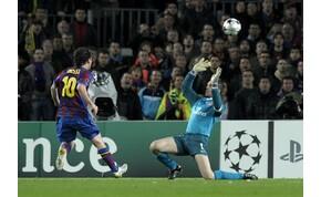 Felejthetetlen: Lionel Messi tíz éve rúgott négy gólt az Arsenalnak