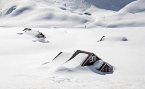 Olvad a norvég jég, ahonnan fantasztikus leletek kerülnek elő