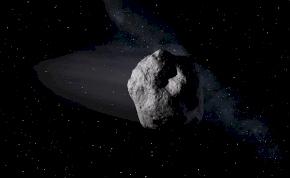 Egy hatalmas aszteroida, 30 ezer km/h-val zúgott el a Föld mellett