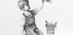 Banksy megmutatja, hogy kik az igazi hősök