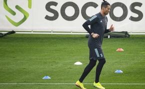 Így edz együtt Cristiano Ronaldo és fia