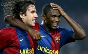 A volt Barca-sztár Ronaldót méltatta