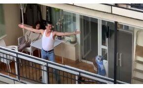 A porszívós Freddie Mercury hasonmás produkcióját látni kell!