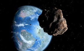 Egy Big Ben nagyságú aszteroida tart a Föld felé