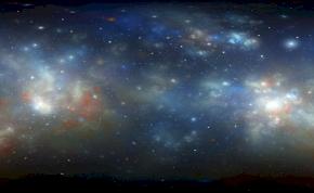 Felfedeztek egy tüzes, fánk alakú galaxist