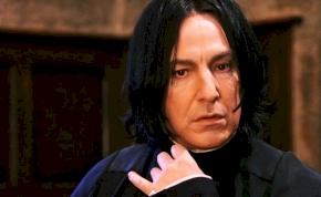 J.K. Rowling elárulta, hogy honnan jött igazából Piton professzor neve
