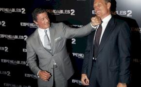 Sylvester Stallone újra bunyózni akar Dolph Lundgrennel