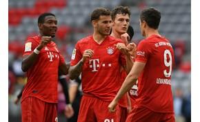 Kiütötte ellenfelét a Bayern München – videó