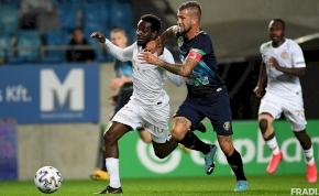 Két gólt rúgott a Fradi Felcsúton, mégis 1-1-et játszott emberelőnyben – videó