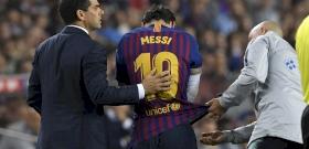 Lionel Messi megsérült, gondban a Barcelona