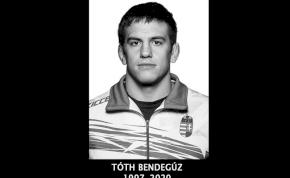 Edzés közben rosszul lett, és meghalt Tóth Bendegúz