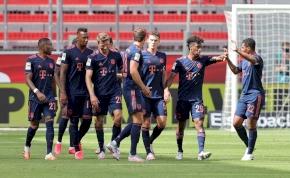 Gólzáporos mérkőzést nyert a Bayer ellen a Bayern München – videó