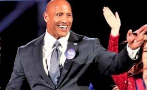 Dwayne Johnson olyan beszédett mondott, hogy esélyes lett az elnökválasztáson