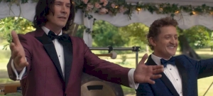 Keanu Reeves visszatért: megérkezett a Bill és Ted folytatásának első előzetese