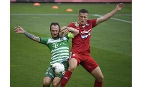 Potyaízű, szerencsés góllal verte a Ferencváros a Kisvárdát – videó