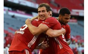 Hihetetlen gól a Bayern München meccsén, egy lépésre a salátástáltól a bajorok – videó