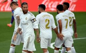 Egy félidő alatt elintézte ellenfelét a Real Madrid – összefoglaló