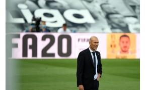 Zinedine Zidane kiakadt csapata teljesítményére