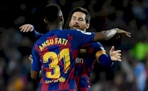 Hiába erőlködik a Manchester United, a Barca nem adja tinisztárját