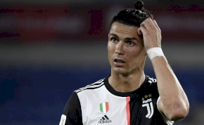 A Juventus szurkolói nem kímélik Cristiano Ronaldót