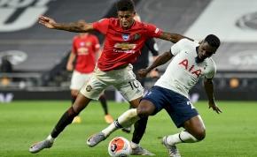 Nem bírt egymással a Tottenham és a Mancester United – videó