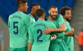 Nyert a Real Madrid, és ezzel megelőzte a Barcelonát – videó