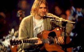 Rekordösszegért kelt el a legendás Kurt Cobain gitárja