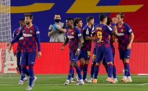 Nehéz győzelemre készült a Barcelona, az is lett – videó