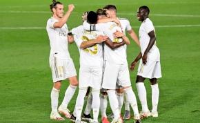 Pazar gólokkal előzte vissza a Real Madrid a tabellán a Barcelonát