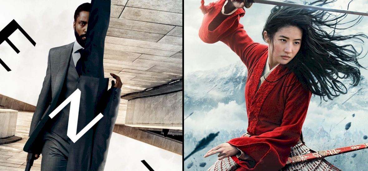 Megint eltolták a Tenet premierjét, de a Mulan is veszélyben van